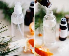 homemade air freshener DIY room spray