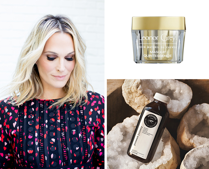 Charcoal Water + A Simple DIY: Molly Sims' Got Beauty Tips For Days