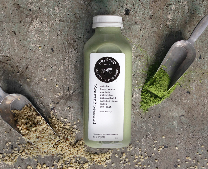 Meet Pressed Juicery's New Matcha Hemp Milk