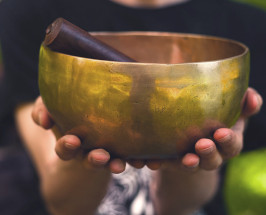 On Singing Bowls + Sound Bathing: Is Music Therapy Legit?