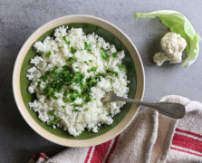 How to Make Cauliflower Rice Four Ways