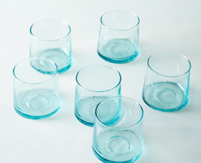Handblown Moroccan Glass Tumblers