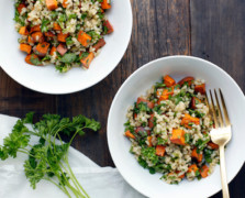 TCM Recipe Staples: Detoxifying Grain Salad With Lemon + Herbs