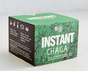 Four Sigma Foods Instant Chaga Herbal Mushroom Tea
