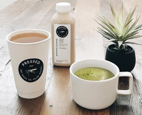 Pressed Juicery's Hot Drinks