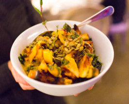 HEIRLOOM LA'S BAKED PUMPKIN PASTA WITH PEPITAS + MAPLE SYRUP
