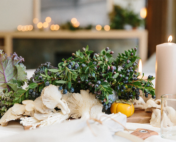 3 Gorgeous Natural Styling Tips From Inside Our Thanksgiving Gathering