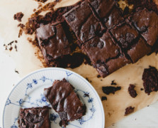 Life Changing Grain-Free Almond Butter Brownies