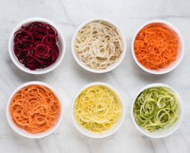 healthy raw vegetable Spiralizer Recipes