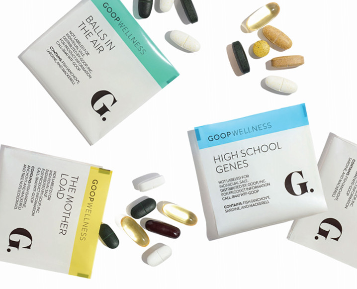 goop supplements