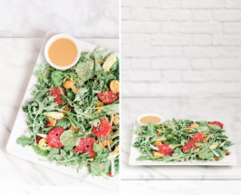 An Easy, But Impressive Kumquat + Baby Kale Salad You Should Try