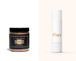La Tierra Sagrada and playa natural dry shampoo