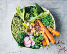 green kitchen at home cookbook veggie bowl recipe
