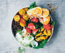 green kitchen stories summer bowl with lentils