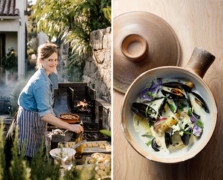 In The Kitchen at Salt Water Farm With Chef Annemarie Ahearn