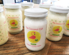 Coconut Cult probiotic yogurt jars