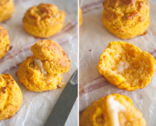 Sweet Potato Biscuits from claire thomas of kitchy kitchen