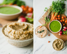 claire thomas healthy veggie dip recipes