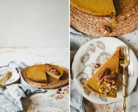 A Gut-Healthy Pumpkin Cheesecake Everyone Will Love
