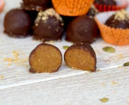 cashew vegan truffles
