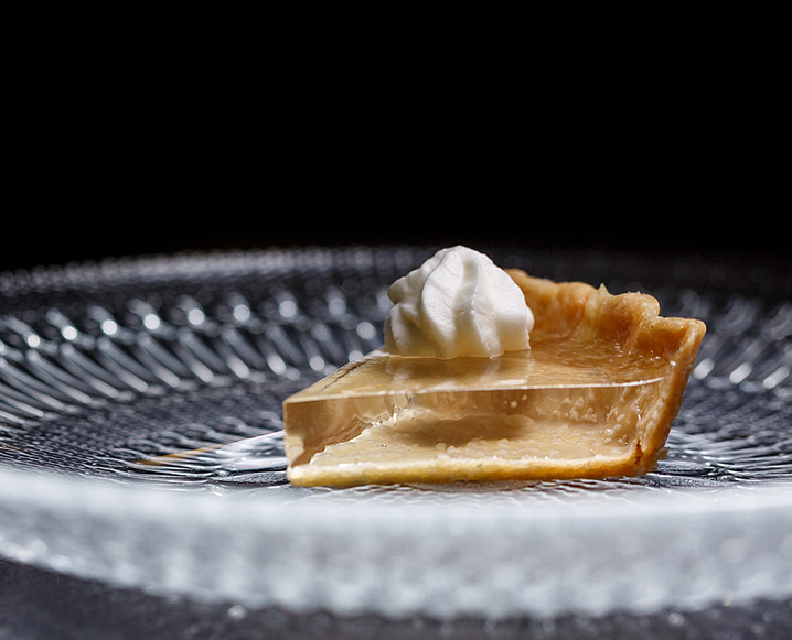 NYC Bite of the Month: Translucent Pumpkin Pie At Alinea