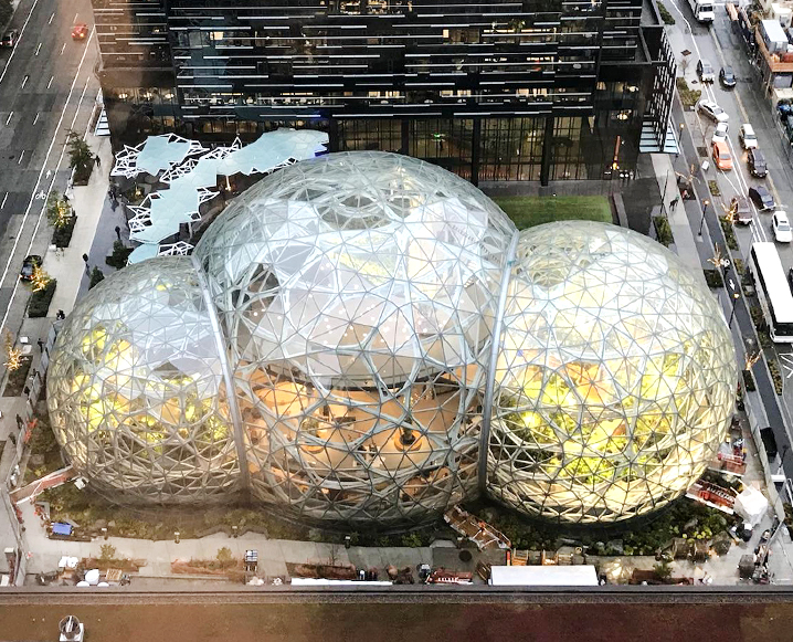 amazon spheres in seattle washington
