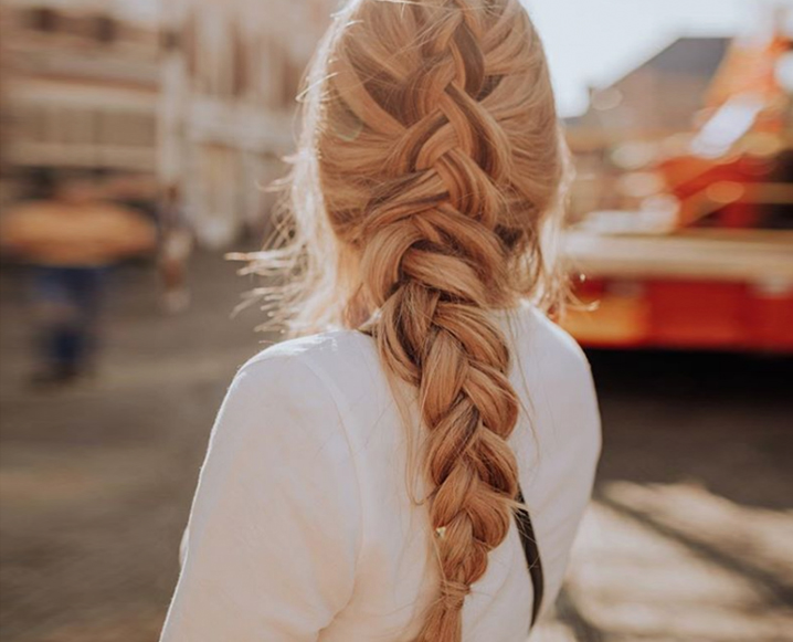 Braided hair representing Healthy Hair supplements