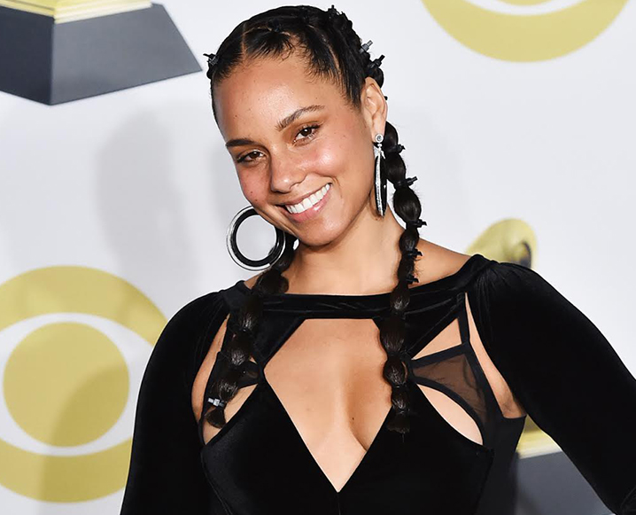 alicia keys at the grammys