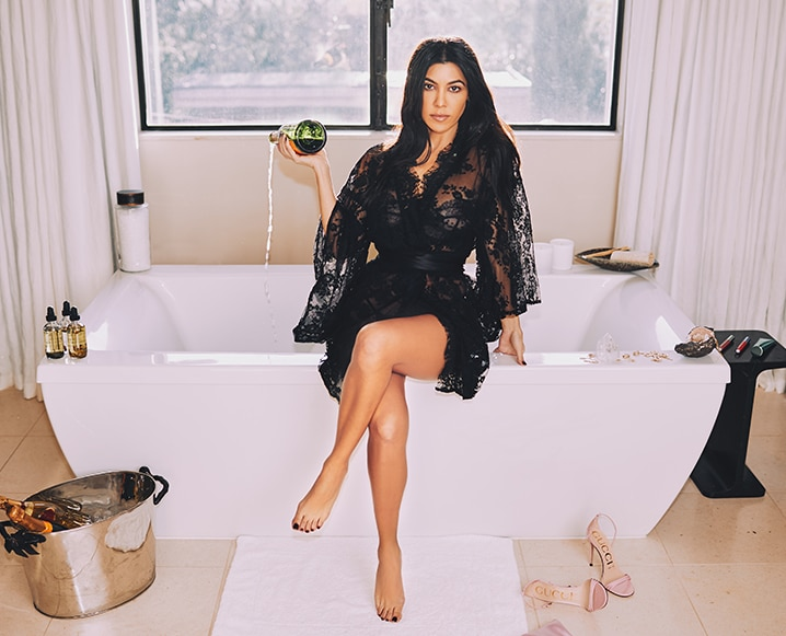 kourtney kardashian poosh launch