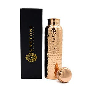 CRETONI Copperlin Pure Copper Water Bottle